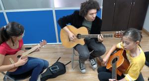 ensamble juvenil y profesor en TUTEMPO academia musical
