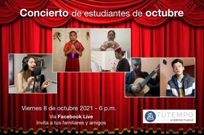 Miniatura concierto estudiantes octubre 2021